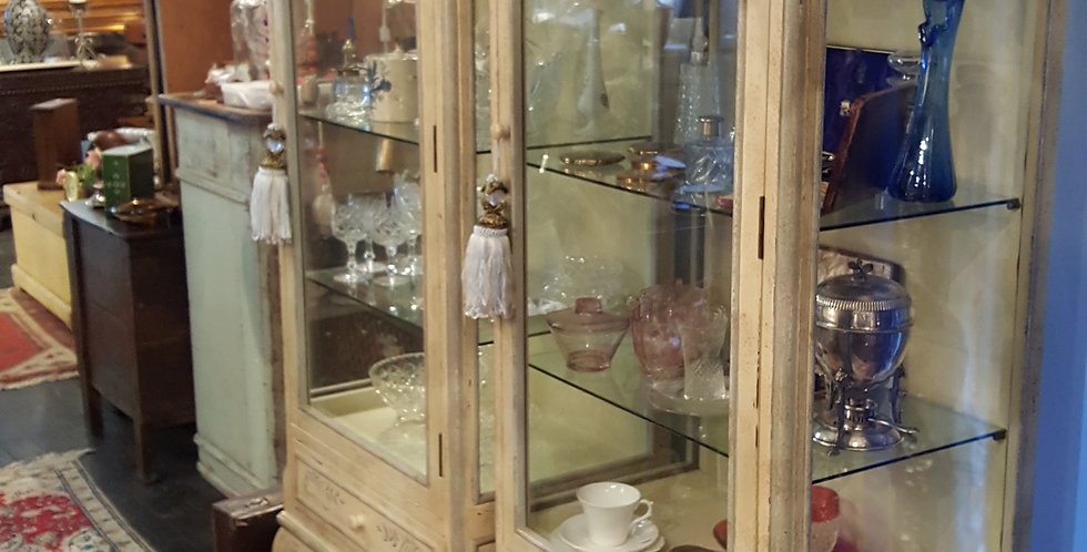 French Provincial Display Cabinets