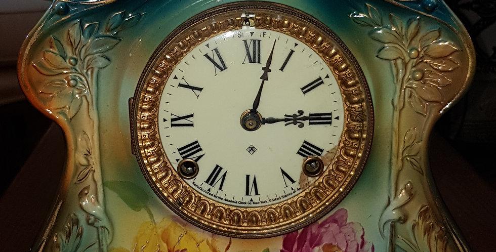 """Bonn"" Porcelain Clock"