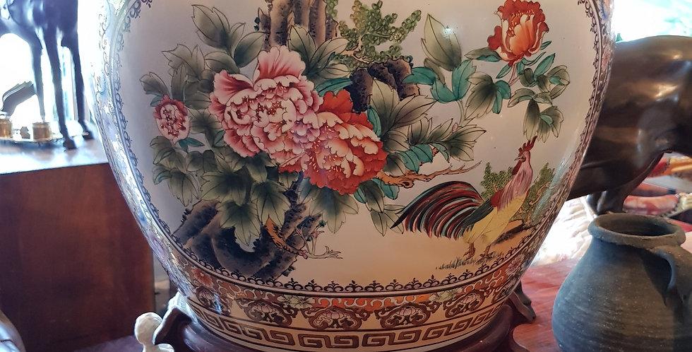 Pair of Vintage Ceramic Pots