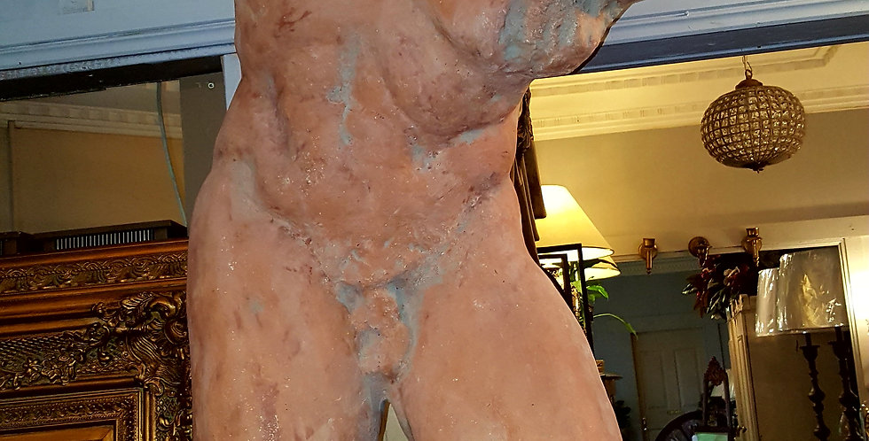 Vintage Male Bust