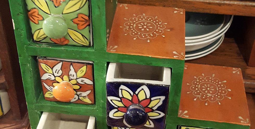 6 drawer cubes