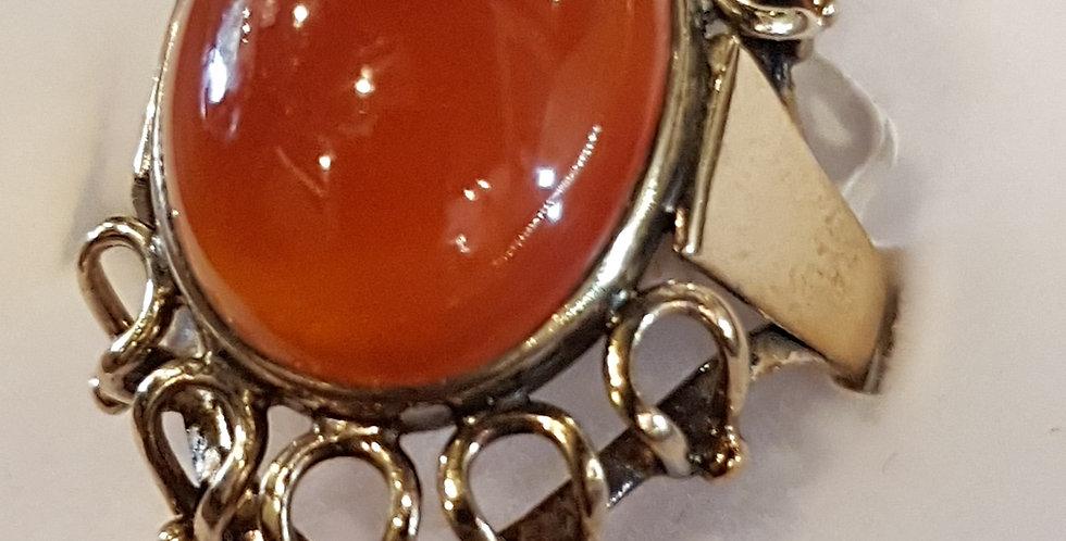 Vintage Carnelian Ring