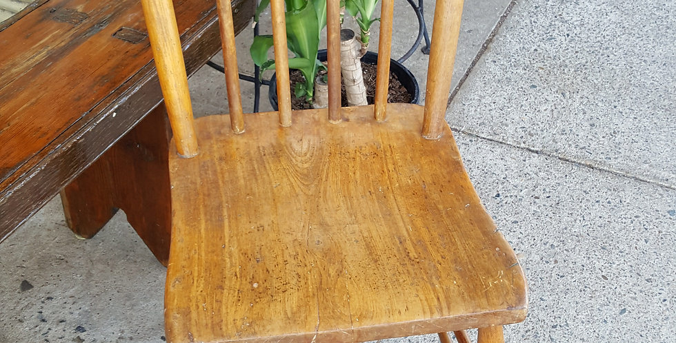 Set of 5 Elm Chairs