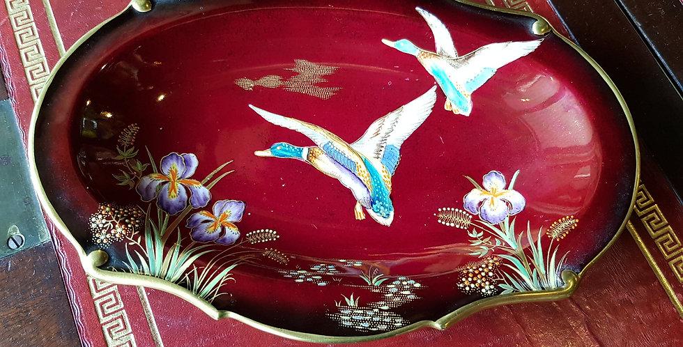 Carltonware Rouge Royale 'Flying Ducks' Dish
