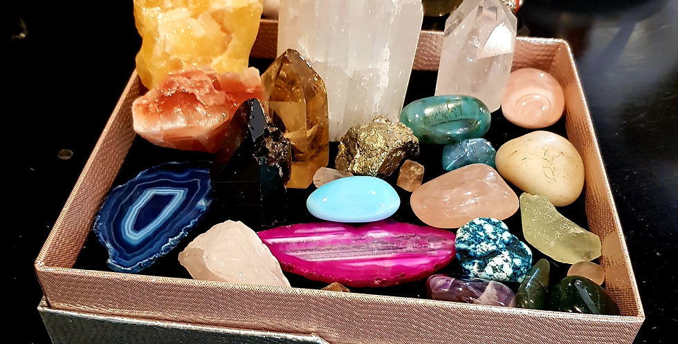 Box of Assorted Crystals