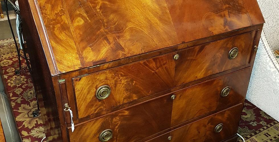 Mahogany Drop Front Desk