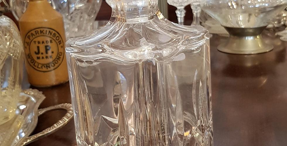 Atlantic Doulton Crystal Decanter