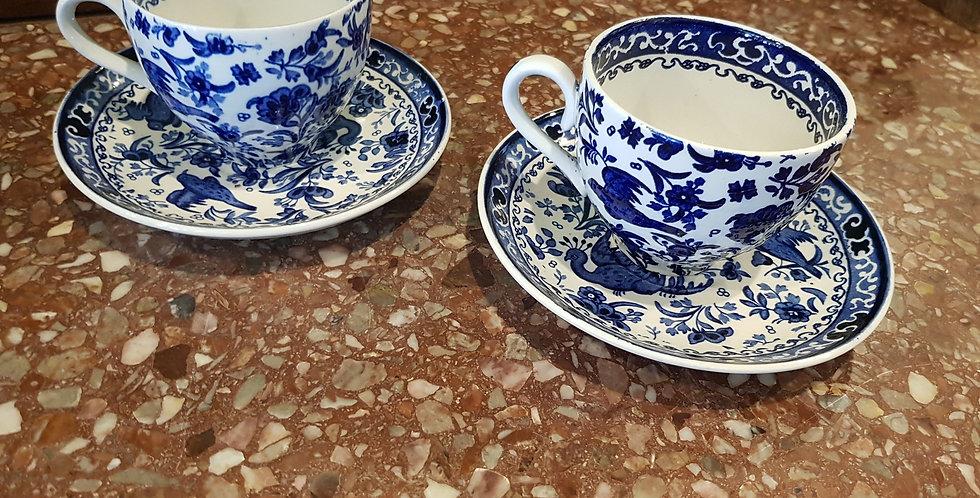 "Burleigh ""Burslem"" Tea Cup & Saucer"