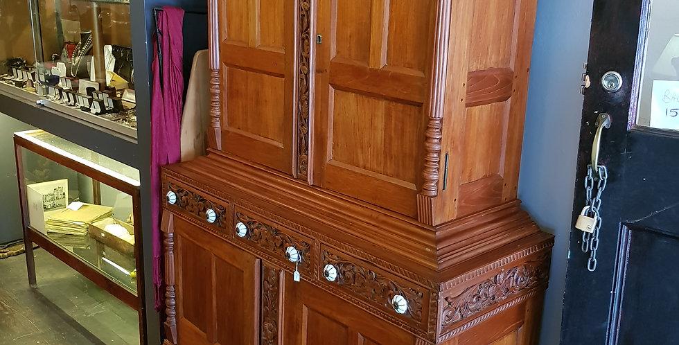 Antique Ceylonese Linen Closet