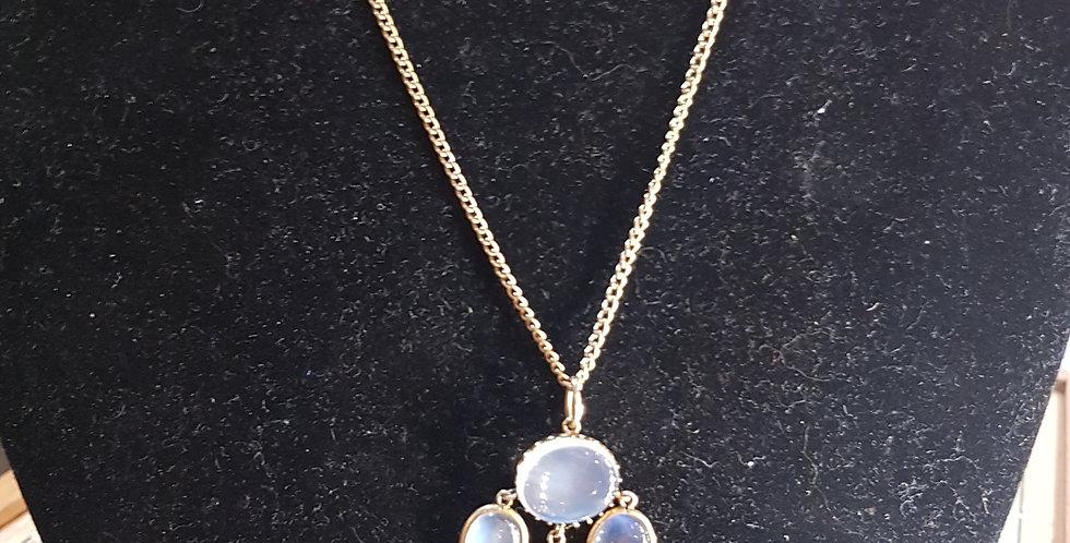 Antique Moonstone Necklace