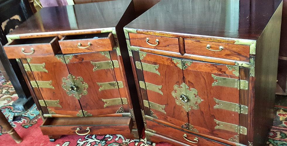Vintage Korean Bedsides