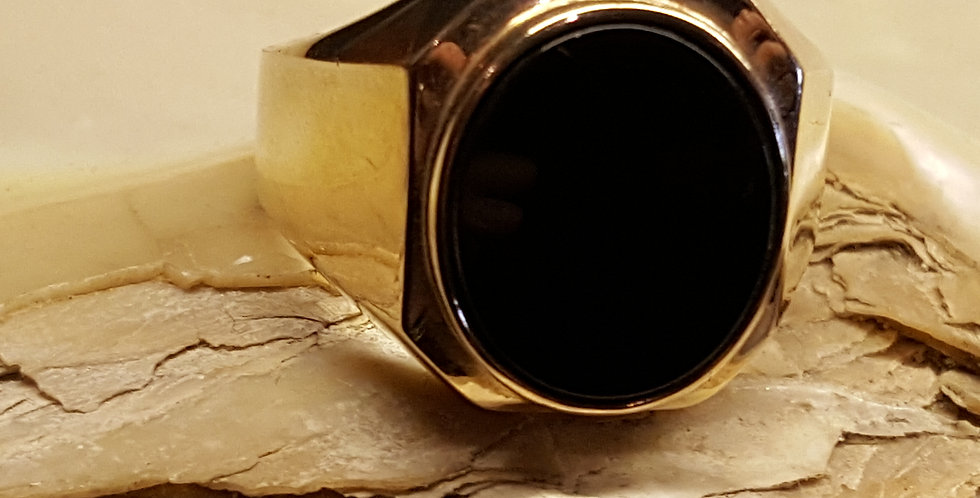 Men's Onyx Dress Ring