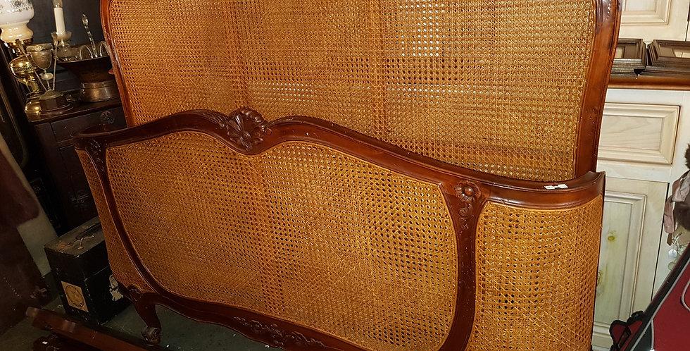 Vintage Mahogany Bed