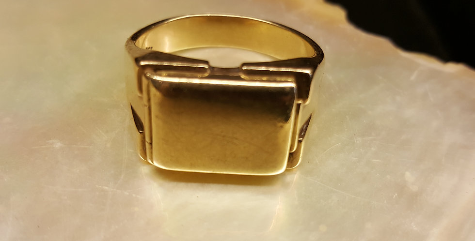 Men's Gold Dress Ring
