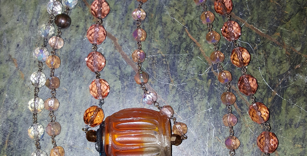 Long Strand Crystal and Glass Beads