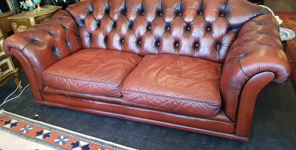 Vintage Leather Moran Chesterfield