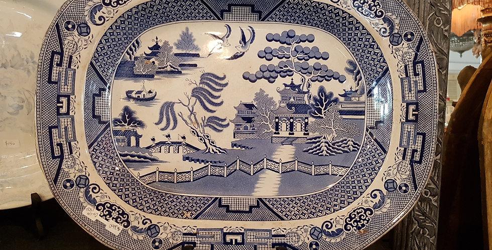 "17.5"" Antique Platter"
