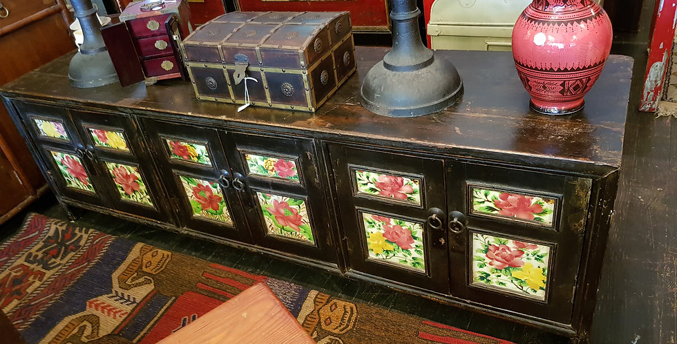Vintage Chinese Lowline Cabinet