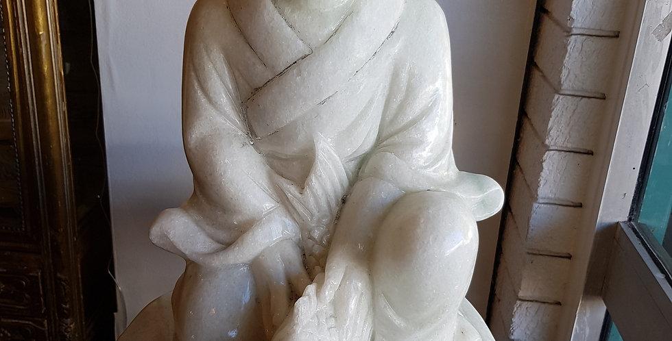Solid Quartz Buddha