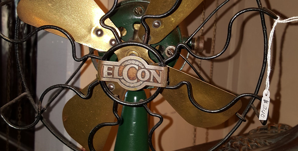 Vintage Elcon Fan