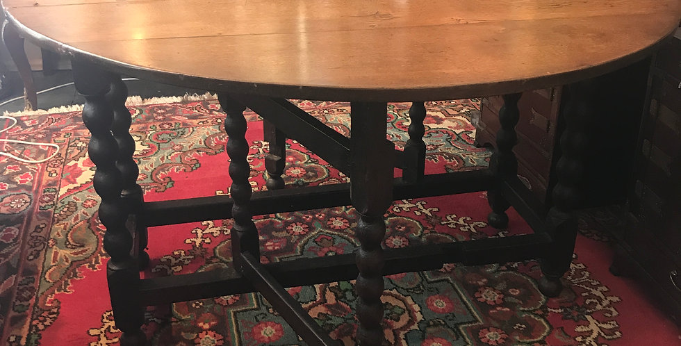 Georgian gate leg table.