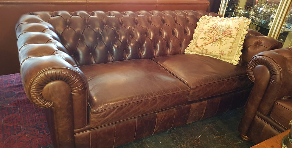 Leather Chesterfield Lounges