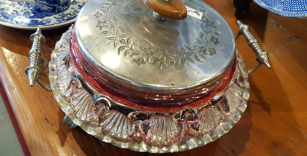 Antique Jam Dish