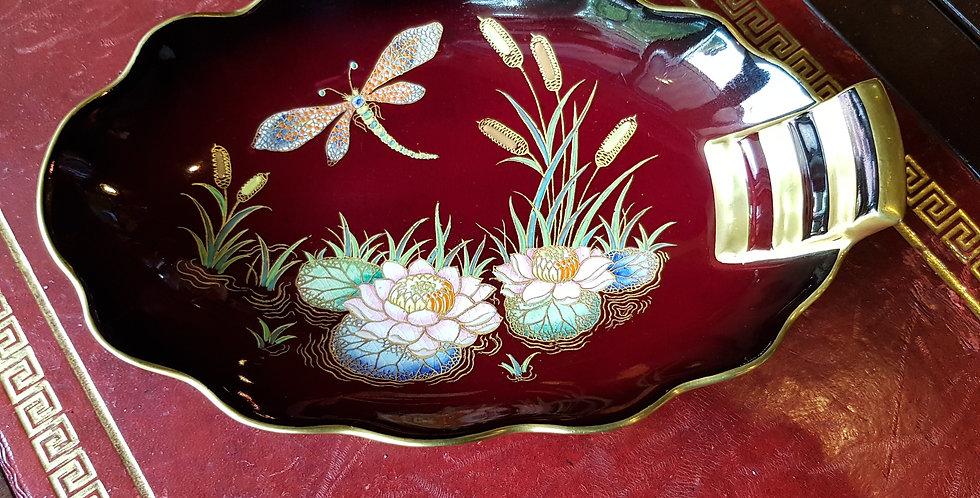 Carltonware Rouge Royale 'Dragonfly' Dish