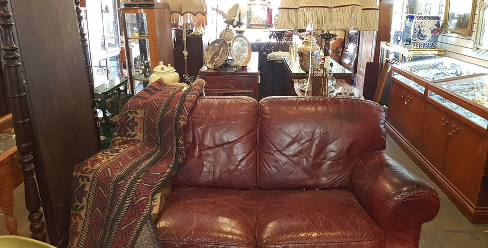 Vintage 'Natuzzi' Leather Lounges