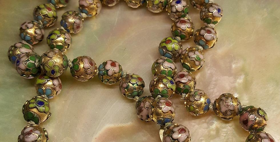 Vintage Cloisonne Beads