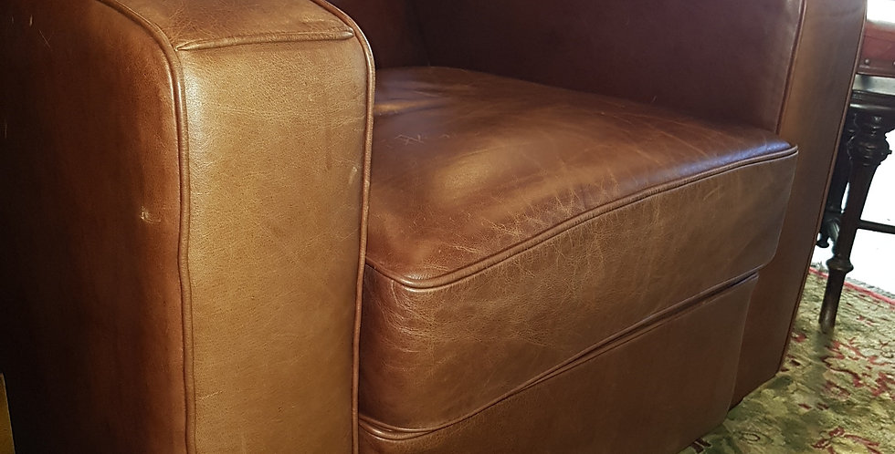 Freedom Furniture Leather Armchair