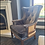 Thumbnail: Velvet deconstructed French arm chair