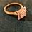 Thumbnail: 9ct gold and diamond ring