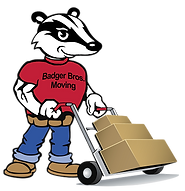 Badger Brothers Moving Updated Logo Desi
