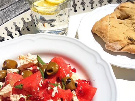 Es ist heiss - gesund Essen bei 36° Grad im Schatten (mit Rezeptvorschlag)