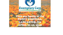 Exemplary Care Invites You to The Poppy Festival!