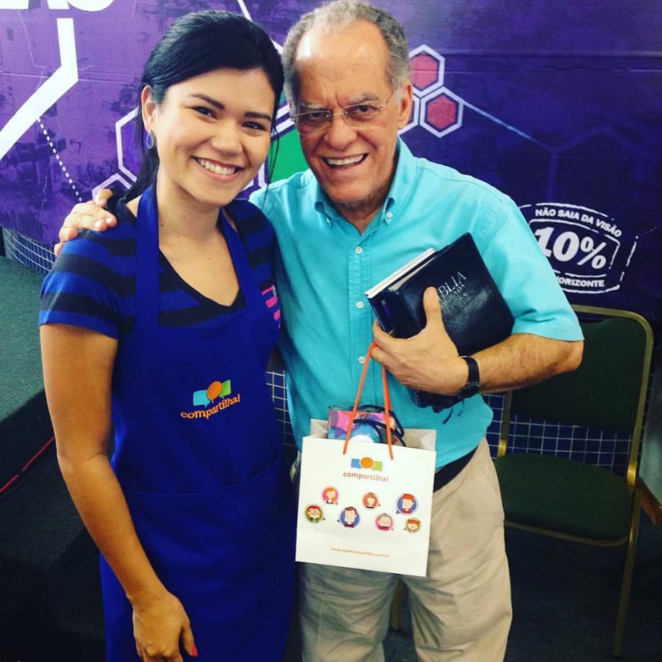 Thalita Lin com Pr. Márcio Valadão