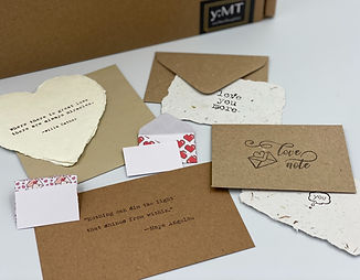 """""""Just Because"""" cards from the card bundle pack on You:MoreThoughtful."""