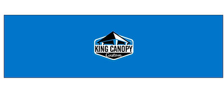 King Canopy Custom Half Wall