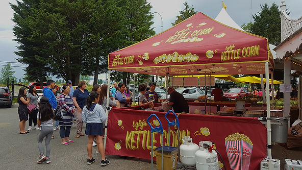 Custom Lylys Kettle Corn Tent