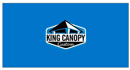 King Canopy Custom Side Wall