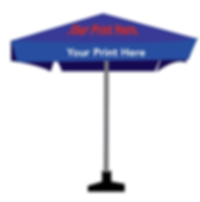 Custom Market Umbrella