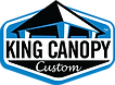 King Canopy Custom Logo