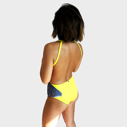 ISWT 1.0 Reversible Onepiece in Visibly Yellow