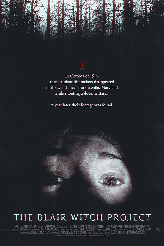 the blair witch project horror movie found footage classic