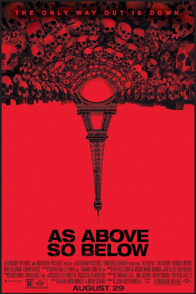 as above so below horror movie found footage treasure hunt philosopher's stone