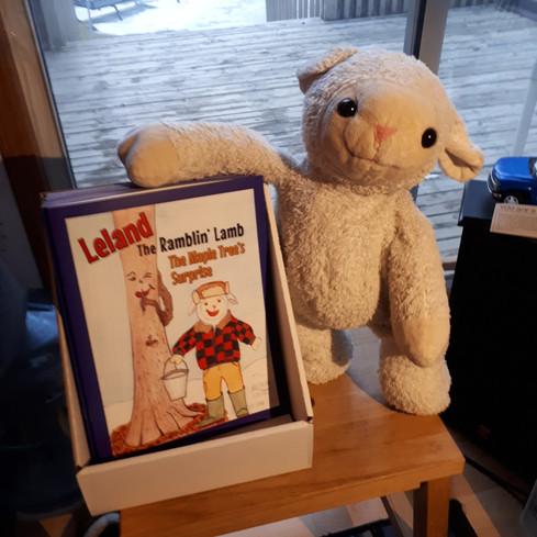 A pretty proud lamb!