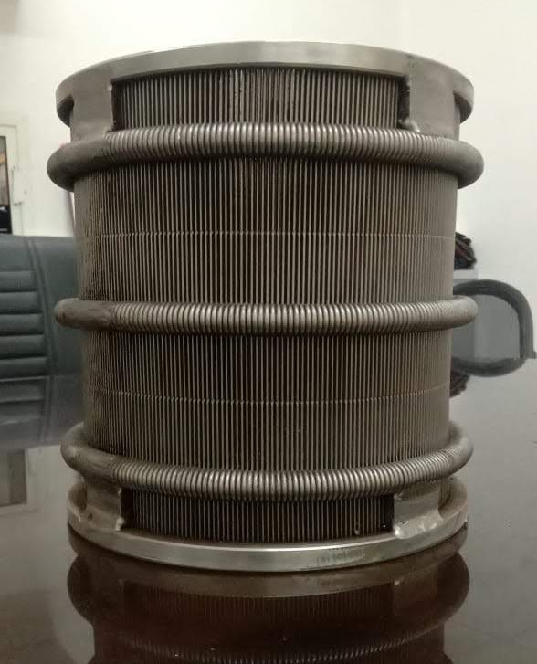 Whirler Wedge Wire Screen for Pusher Centrifuges
