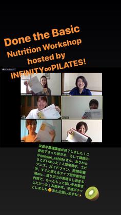∞大好評につき、7月と8月に栄養学講座開催致します!