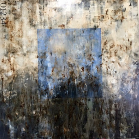 CUADRO AZUL / BLUE SQUARE